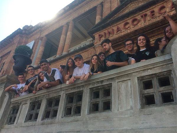 Visita à Pinacoteca
